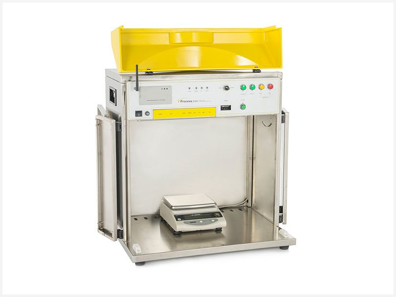 i-Process 9200 On-Site Volume & Weight Analyzer